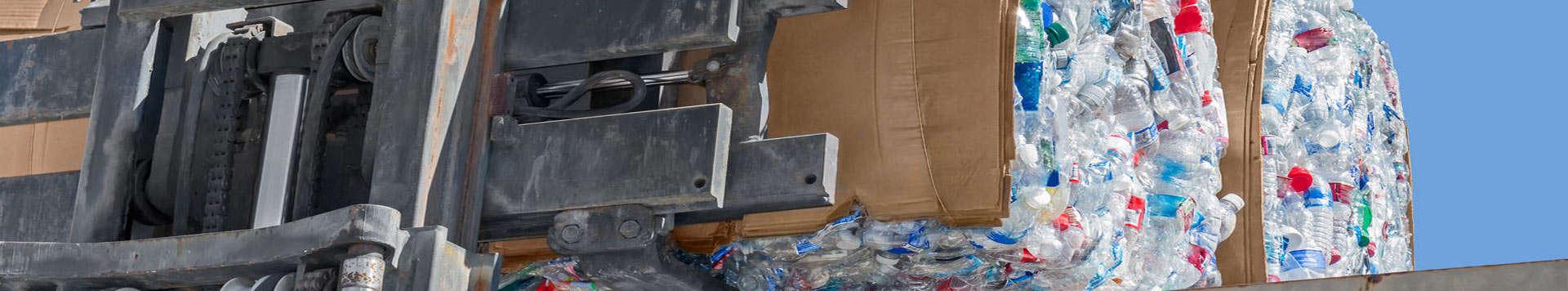 Contenedores de reciclaje de residuos